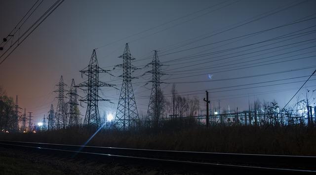 elektrické stožáry
