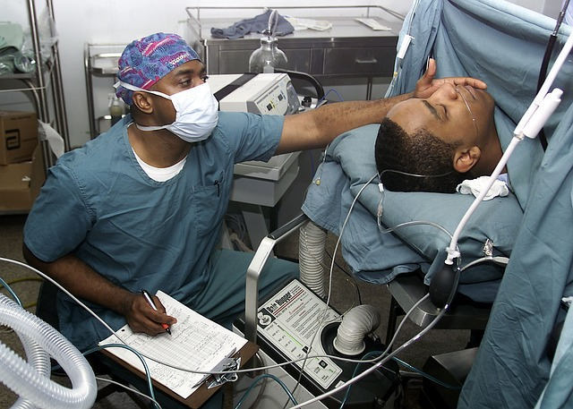 zapisování operace