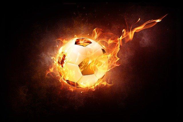 ohnivý balón