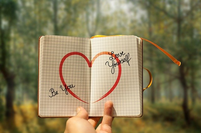 nápis v srdci