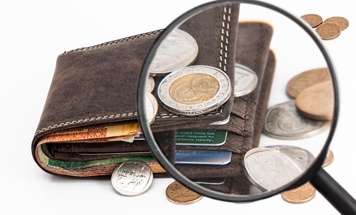 lupa a peněženka
