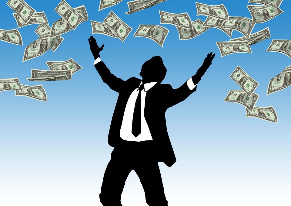 peněz na rozhazování
